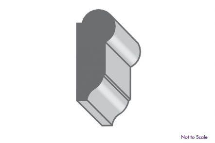 portland oregon style picture rail