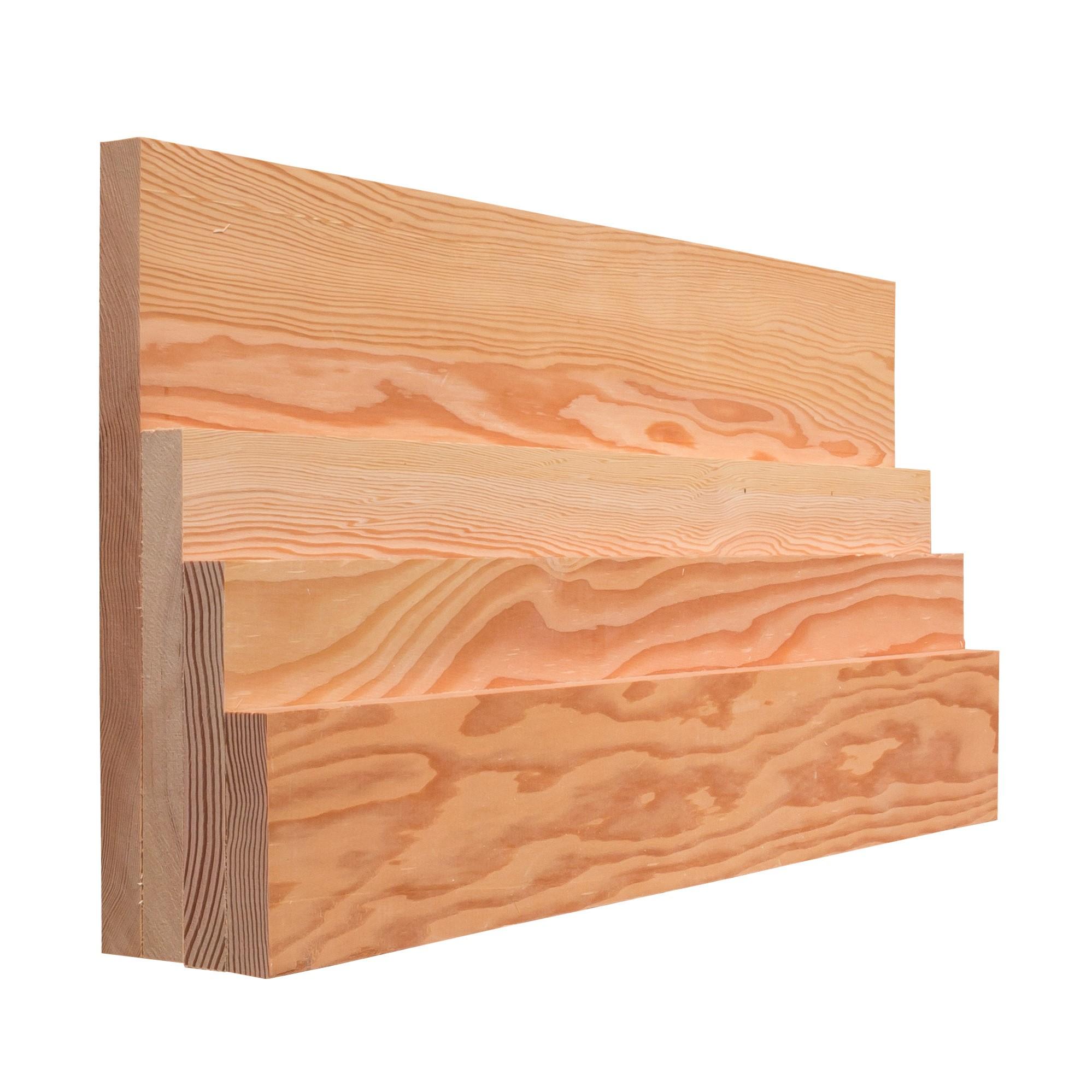 Mixed Grain Fir Lumber, S4S