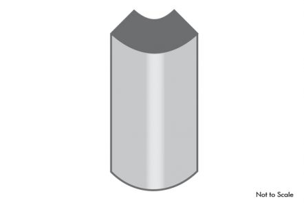 Radius base block